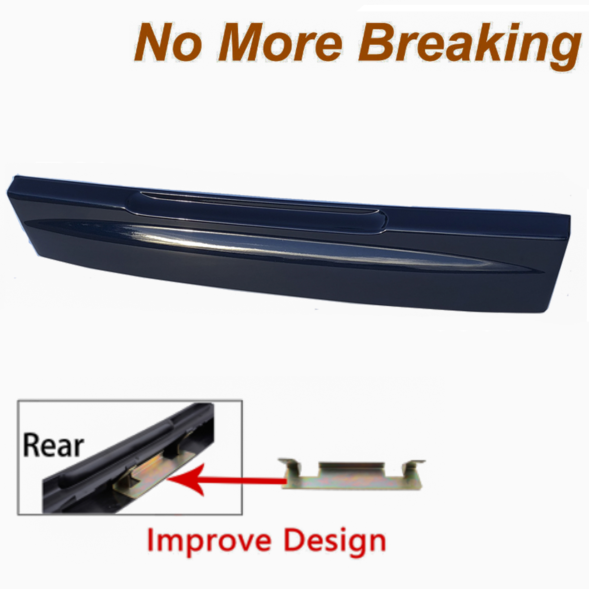 For Ford Explorer DX Dark Blue Pearl 02-05 Tailgate License Plate Shield Handle