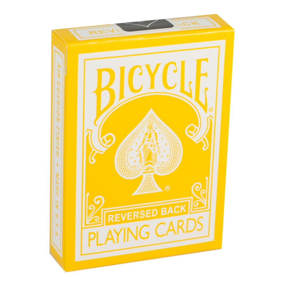 Magic Tricks Bicycle Yellow Playing Cards by US Playing Cards