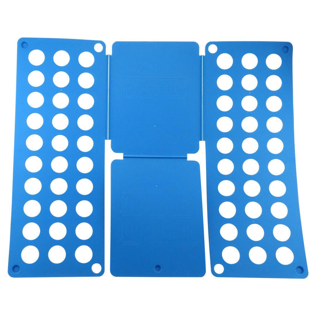 Blue Clothes Folder Folding Board Laundry Organizer Adult T Shirt
