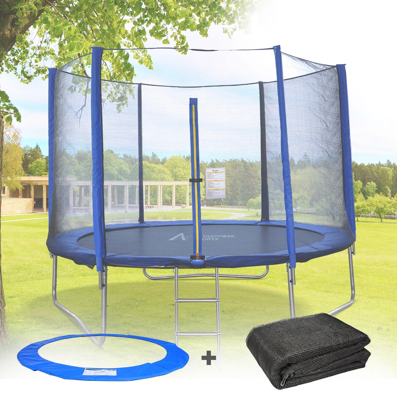 Coussin-de-protection-des-ressorts-Filet-de-securite-pour-trampoline-244cm-427cm