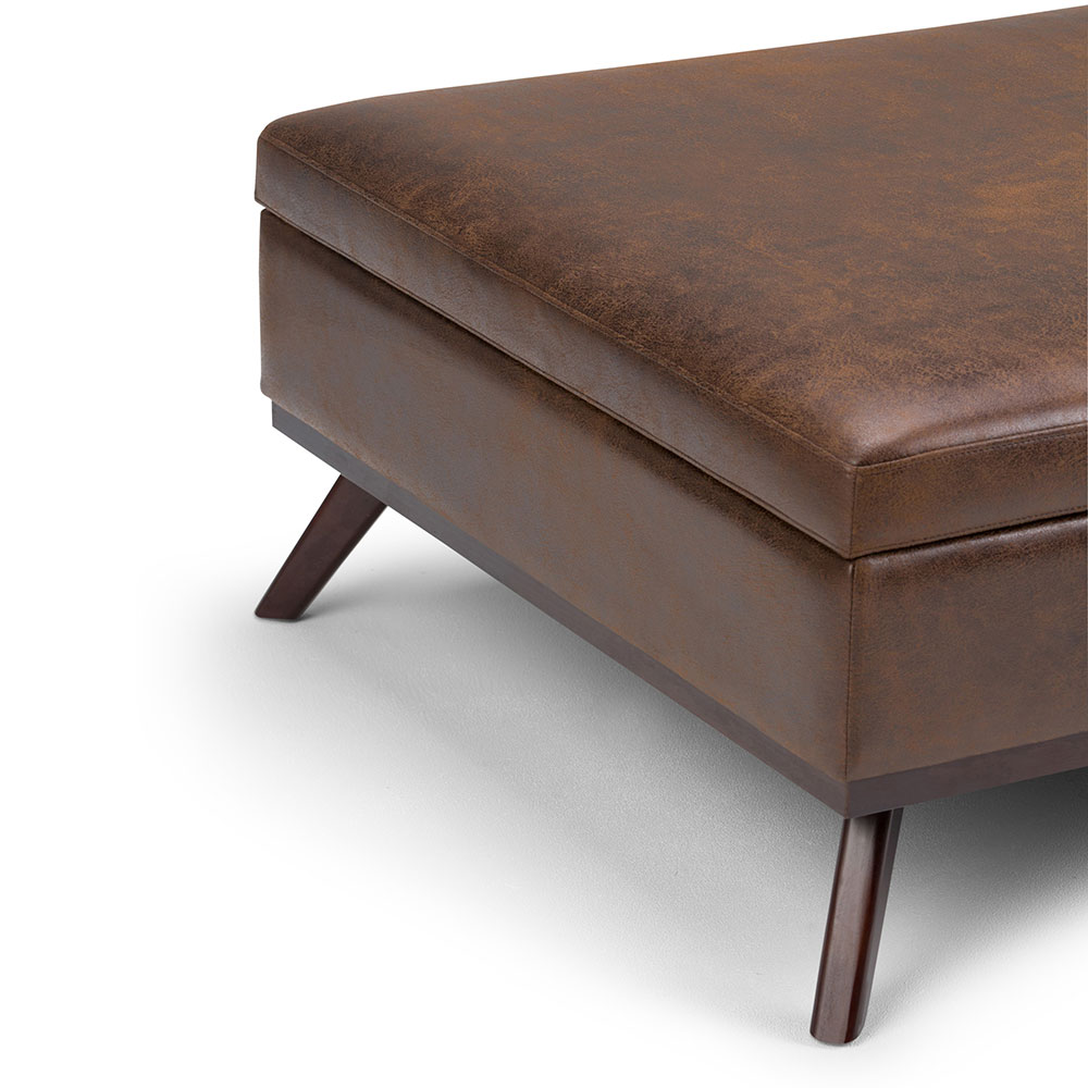 Peachy Owen Square Coffee Table Ottoman With Storage Ebay Andrewgaddart Wooden Chair Designs For Living Room Andrewgaddartcom