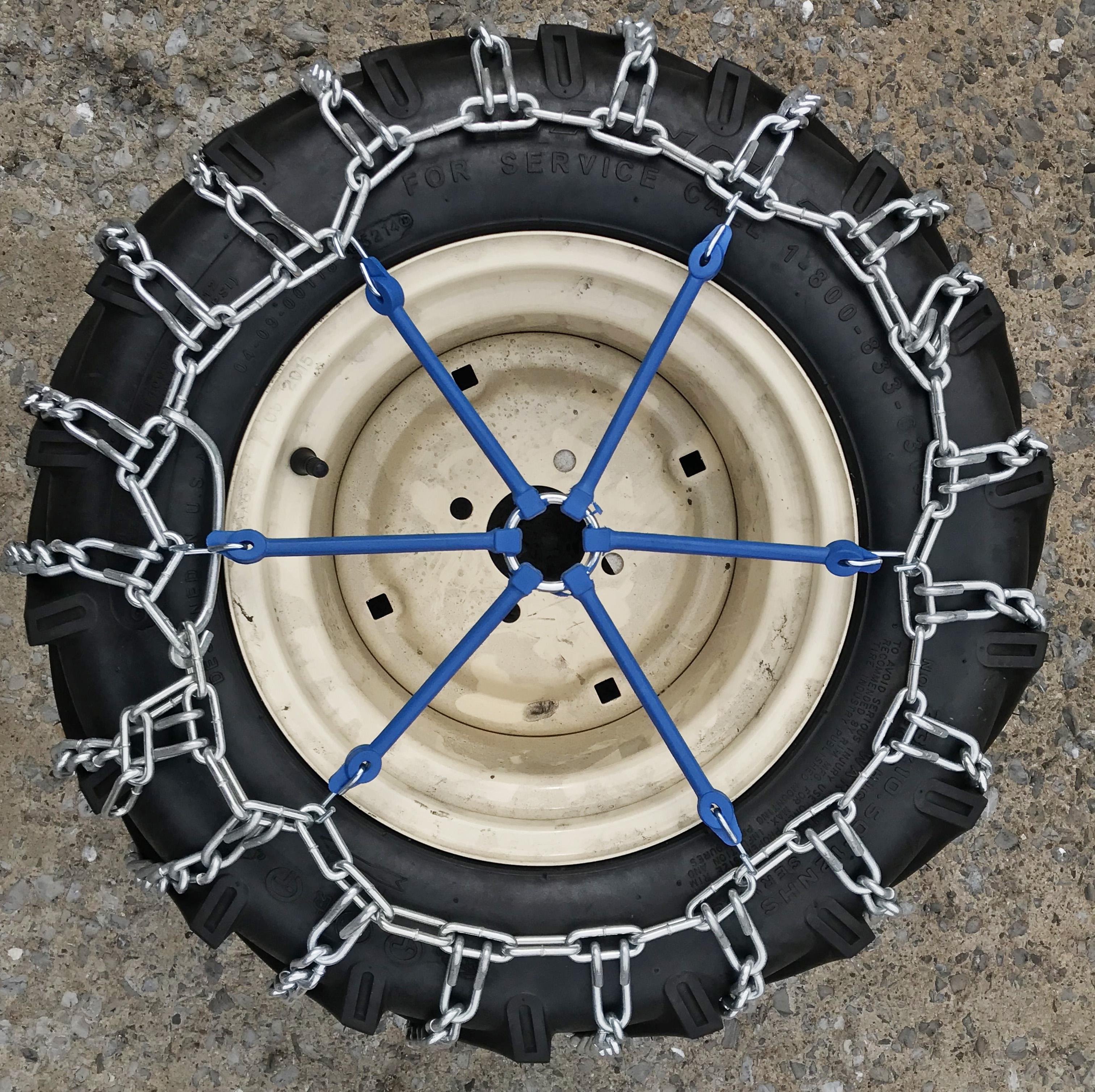 NOT V-BAR Tire Chains TireChain.com Polaris RZR 900 XC//900 S 2015 F 27x9-12 ATV UTV NOT Studded