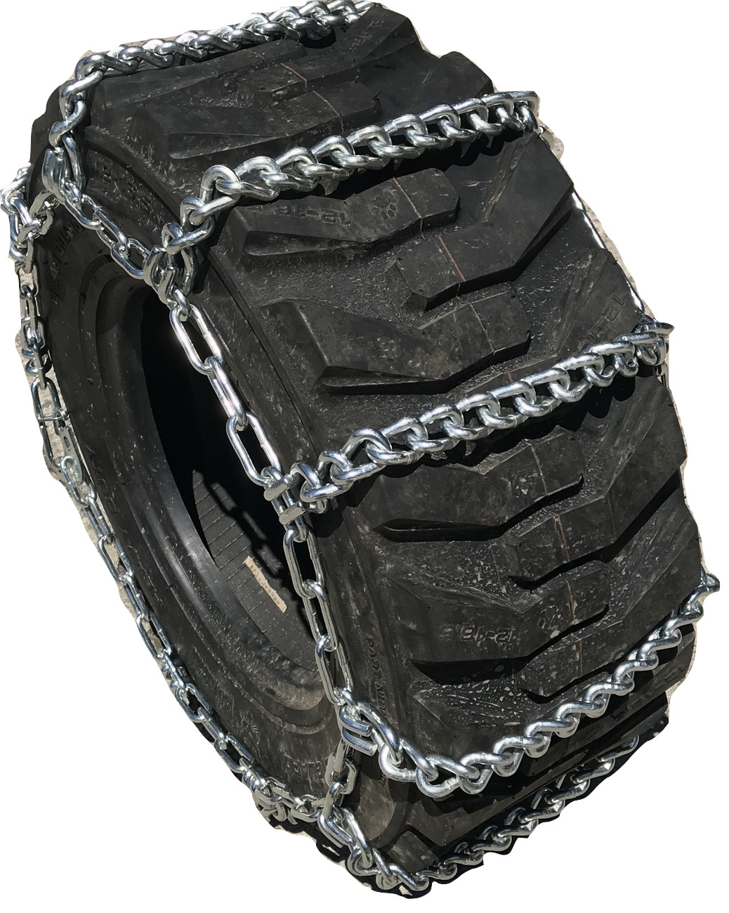Industrial & Off-the-Road (OTR) 14.00 24 Loader Grader Tire Chains Set of 2 TireChain.com 14.00-24