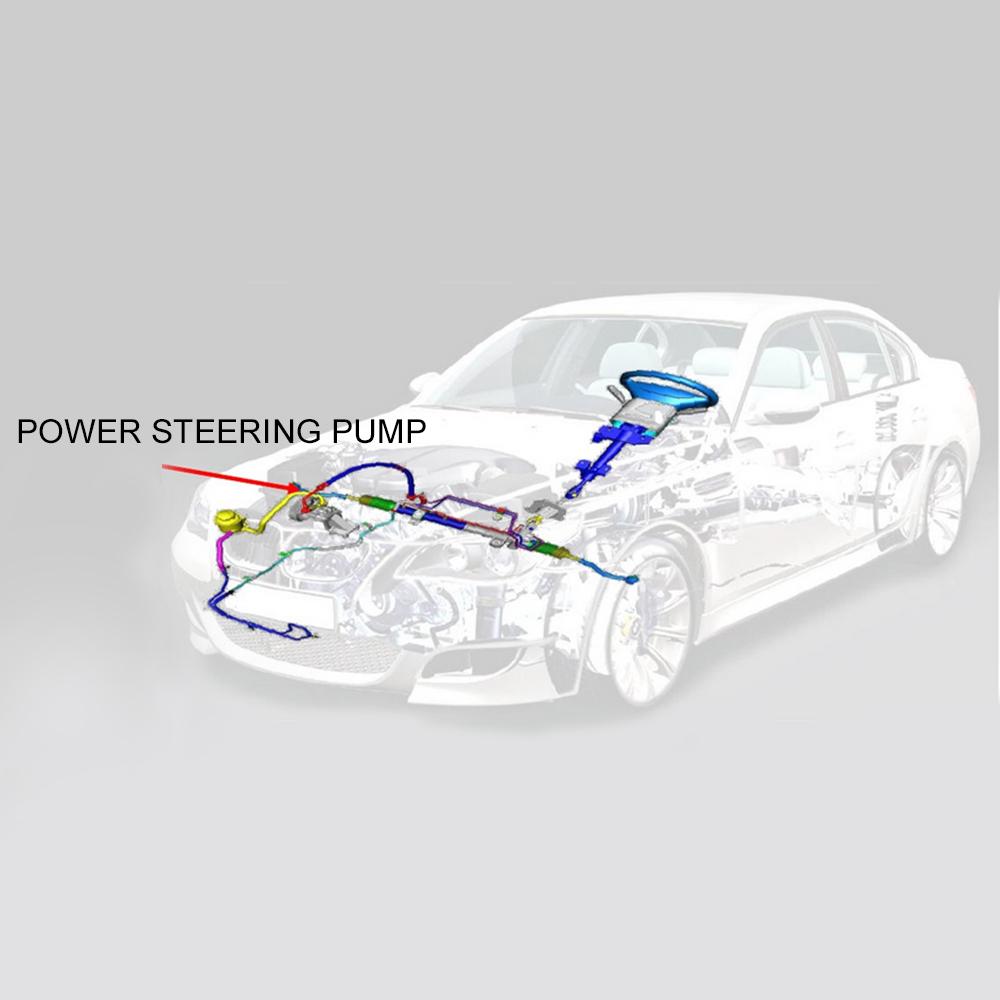 POWER STEERING PUMP For Acura TL V6 1999-2003 Acura CL V6