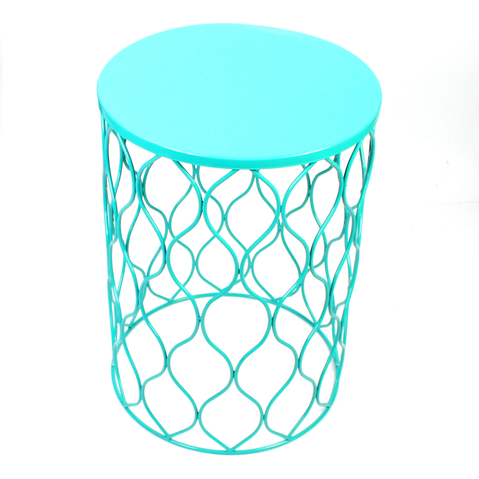 Phenomenal Side Table For Indoor Outdoor Use Set Of 3 Black Ym Round Evergreenethics Interior Chair Design Evergreenethicsorg
