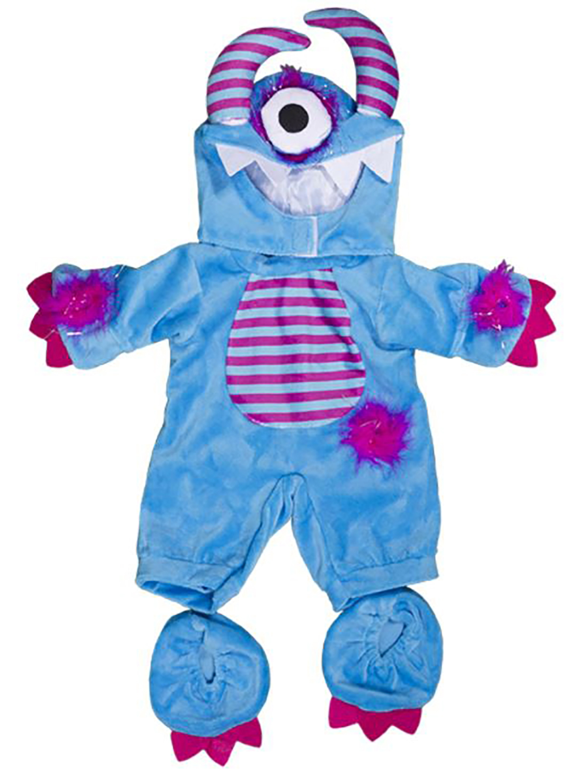 17abbac6 Details about One Eyed Monster Costume Teddy Bear Clothes Fits Most 8