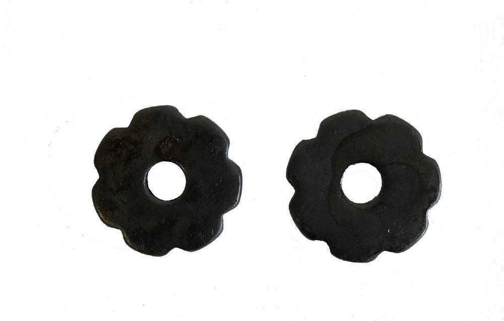 Cloverleaf Spur Rowes Black Steel Sold In Pair Cowboy Boots Accessories