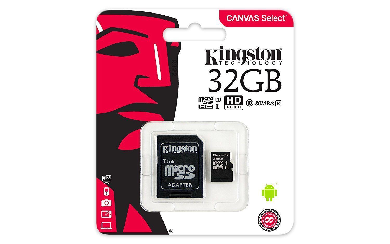 New-Kingston-80MB-s-16GB-32GB-64GB-Micro-SD-SDHC-UHS-I-Class-10-Memory-Card miniature 11