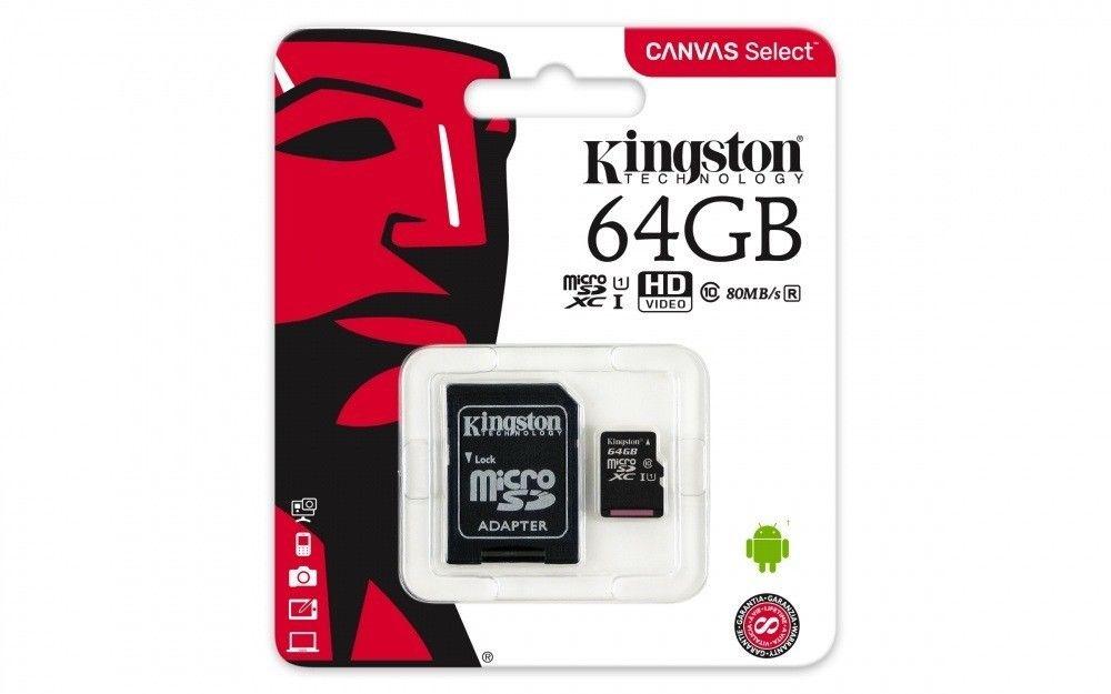 New-Kingston-80MB-s-16GB-32GB-64GB-Micro-SD-SDHC-UHS-I-Class-10-Memory-Card miniature 13