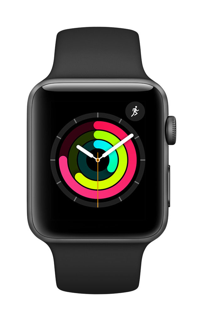 Apple-Watch-Series-3-38mm-42mm-GPS-Space-Gray-Silver-Gold thumbnail 5