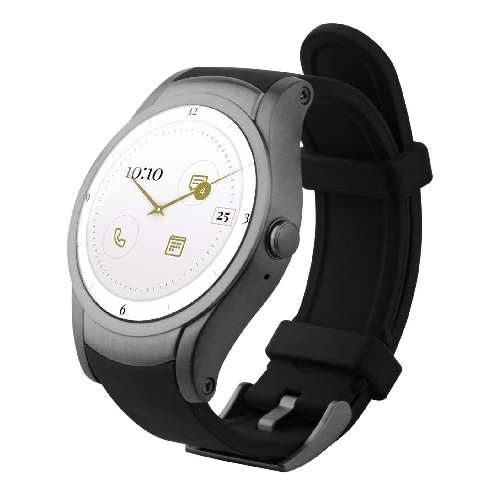 Wear24 Quanta Smartwatch by Verizon 42mm WiFi + Bluetooth Android Wear 2.0