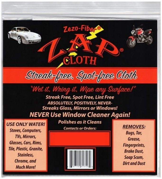 ZAP-Cloth-CHOOSE-QUANTITY-Zezo-Fiber-Streak-Free-Cleaning-Cloth