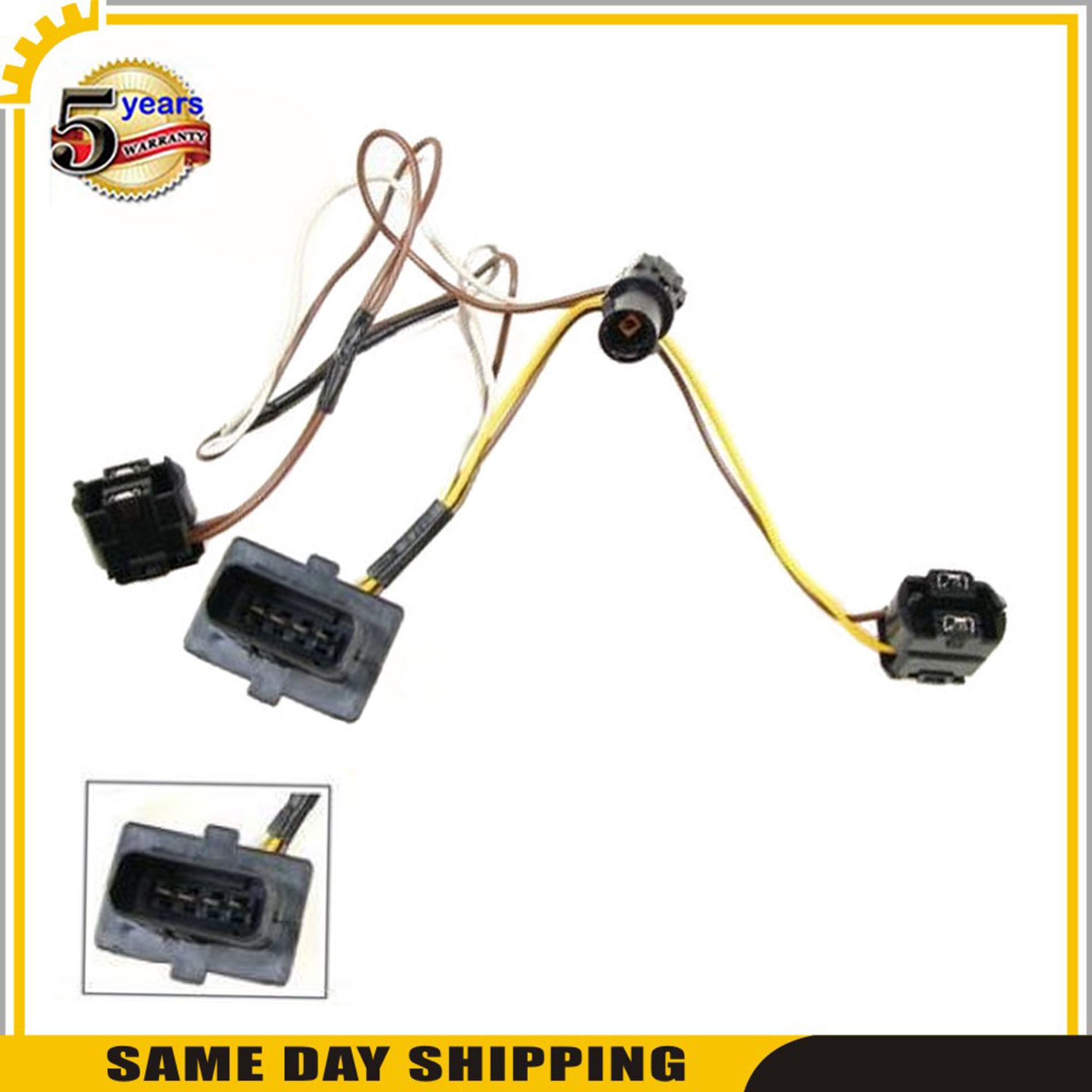 image is loading headlight-wire-harness-repair-kit-left-for-mercedes-