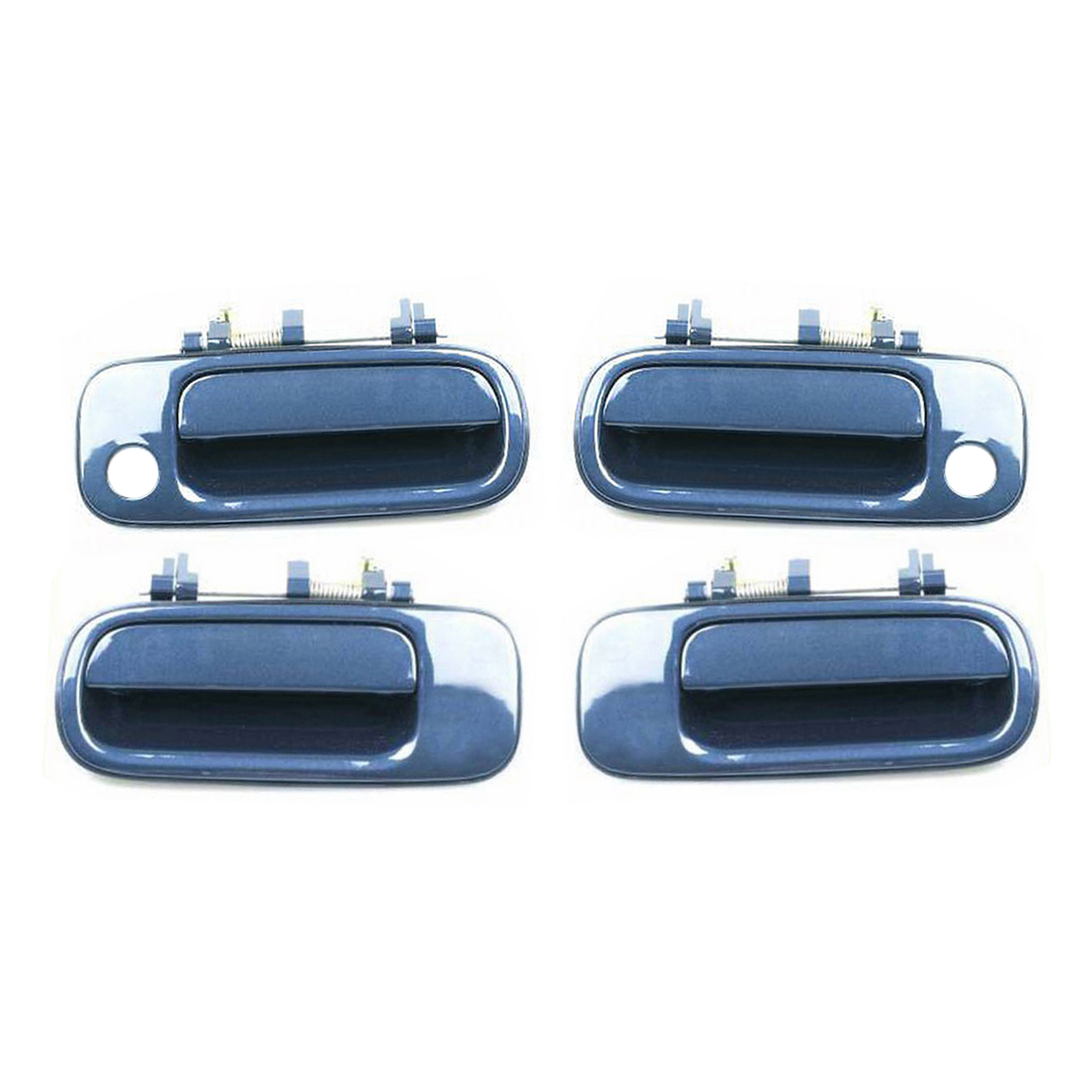Outside Door Handle For Toyota Camry 1992 1996 Blue Haze Pearl 8j6 Front Rear Ebay