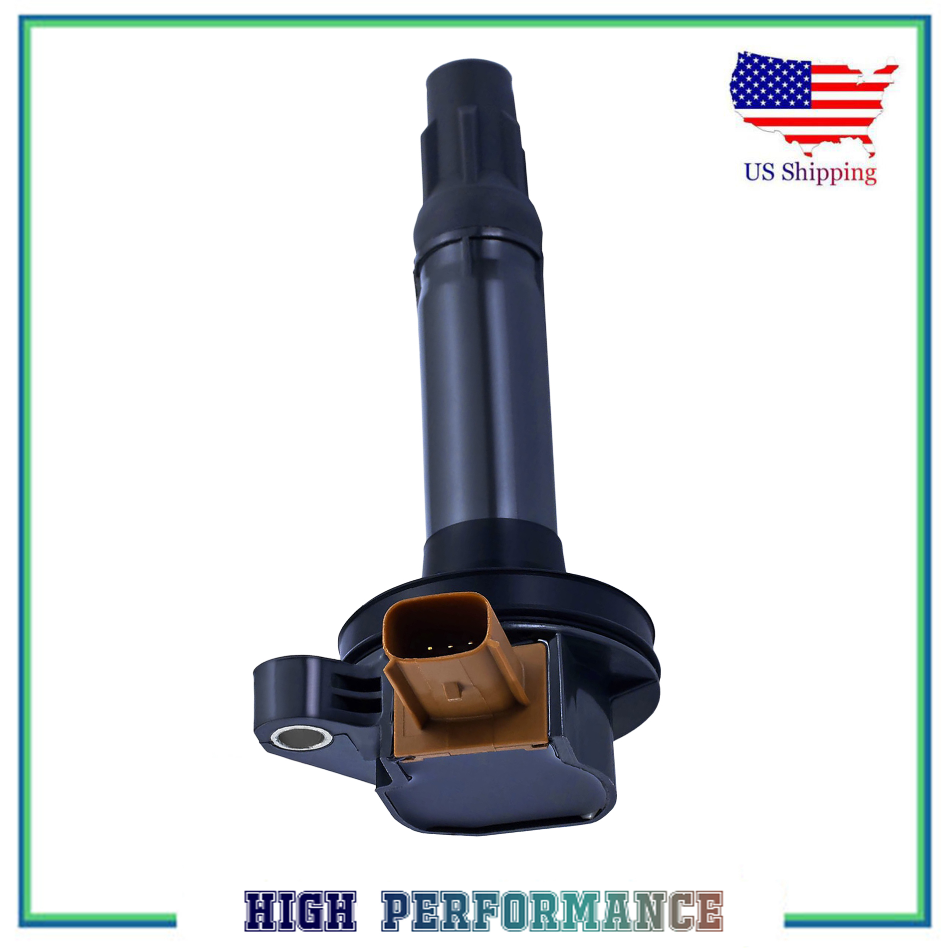 Ignition Coil For For Ford F-150 Explorer Lincoln MKT New 3.5L UF646 DG549 C1814