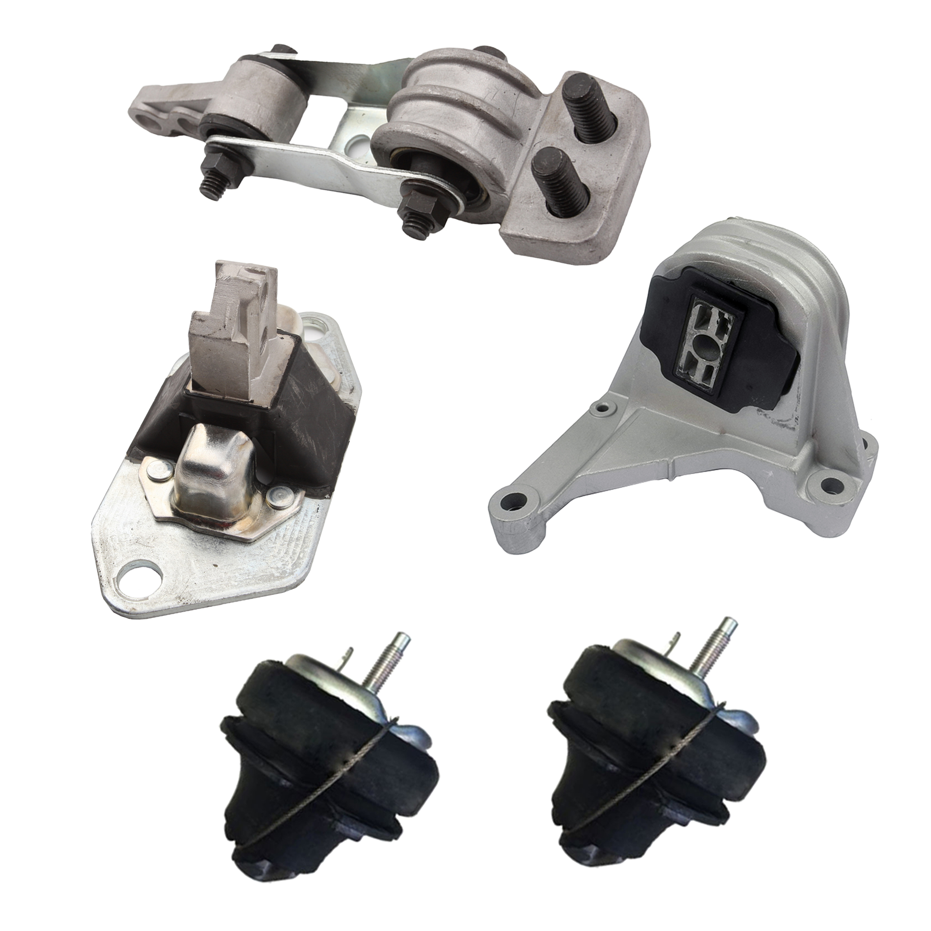 2.5L 2.4L New 5 PCS Engine Motor Mount Set Kit For 01-07 Volvo V70 XC90 2.3L