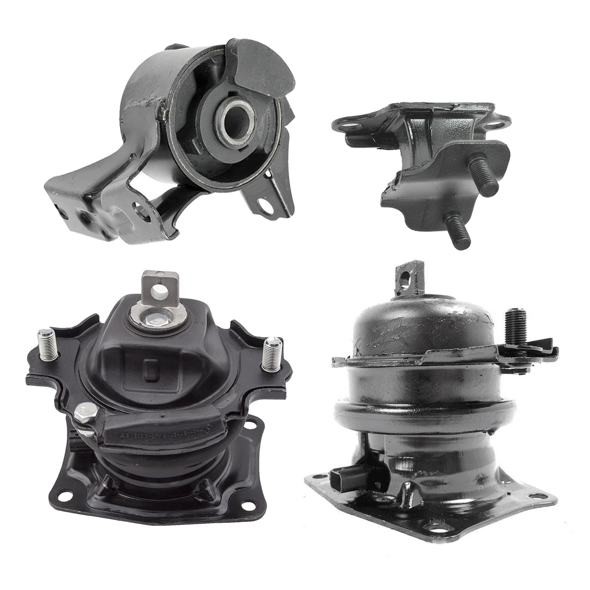 Motor Mounts /& Trans Mount 4PCS Set for 11-16 Honda Odyssey iVTEC 3.5L 6 Spds
