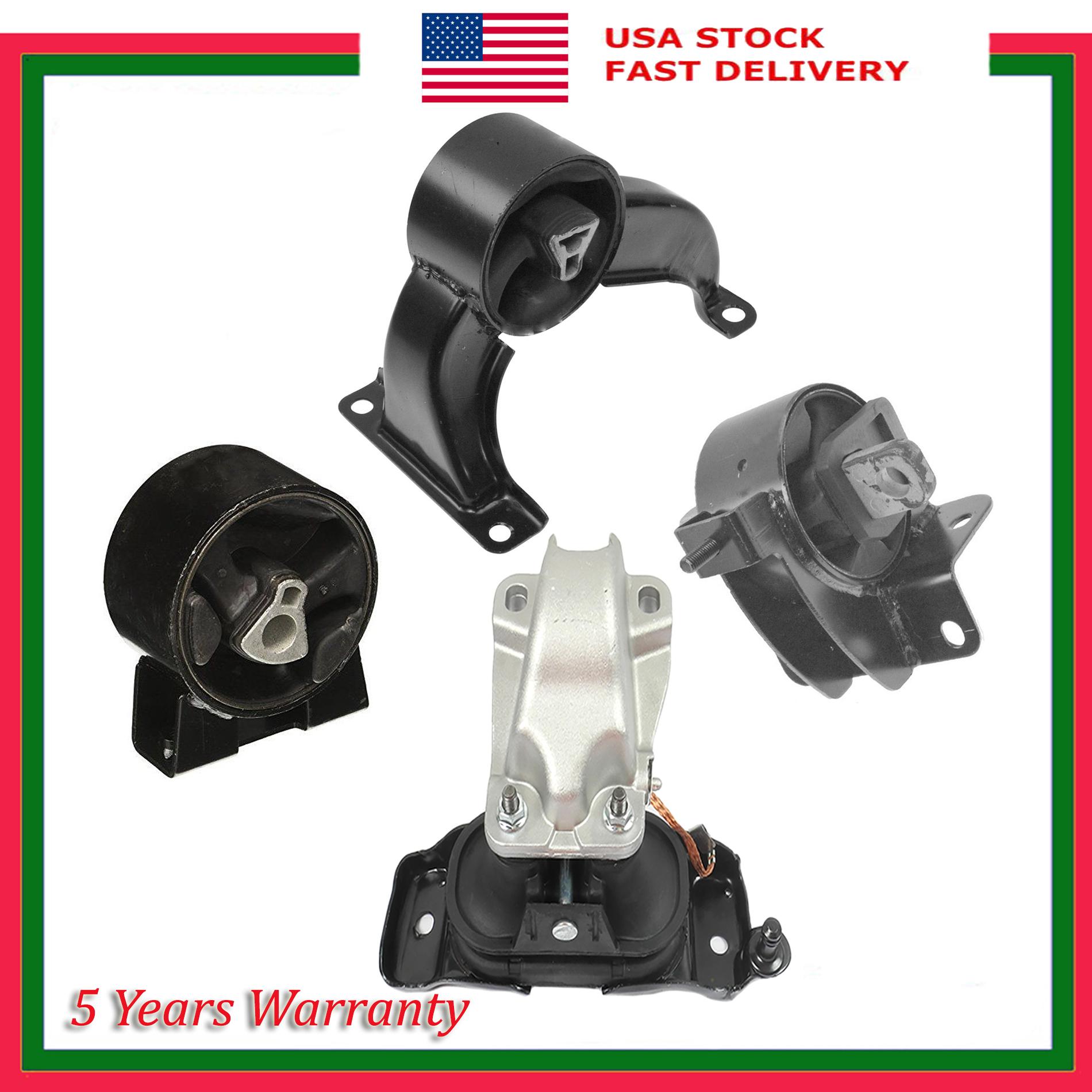 Set 4PCS Engine Motor /& Trans Mount For Chrysler Dodge Grand Caravan 4.0L 08-10