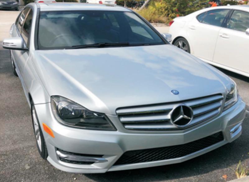 Upgraded For Mercedes C250 C300 C350 Glk Matte Silver