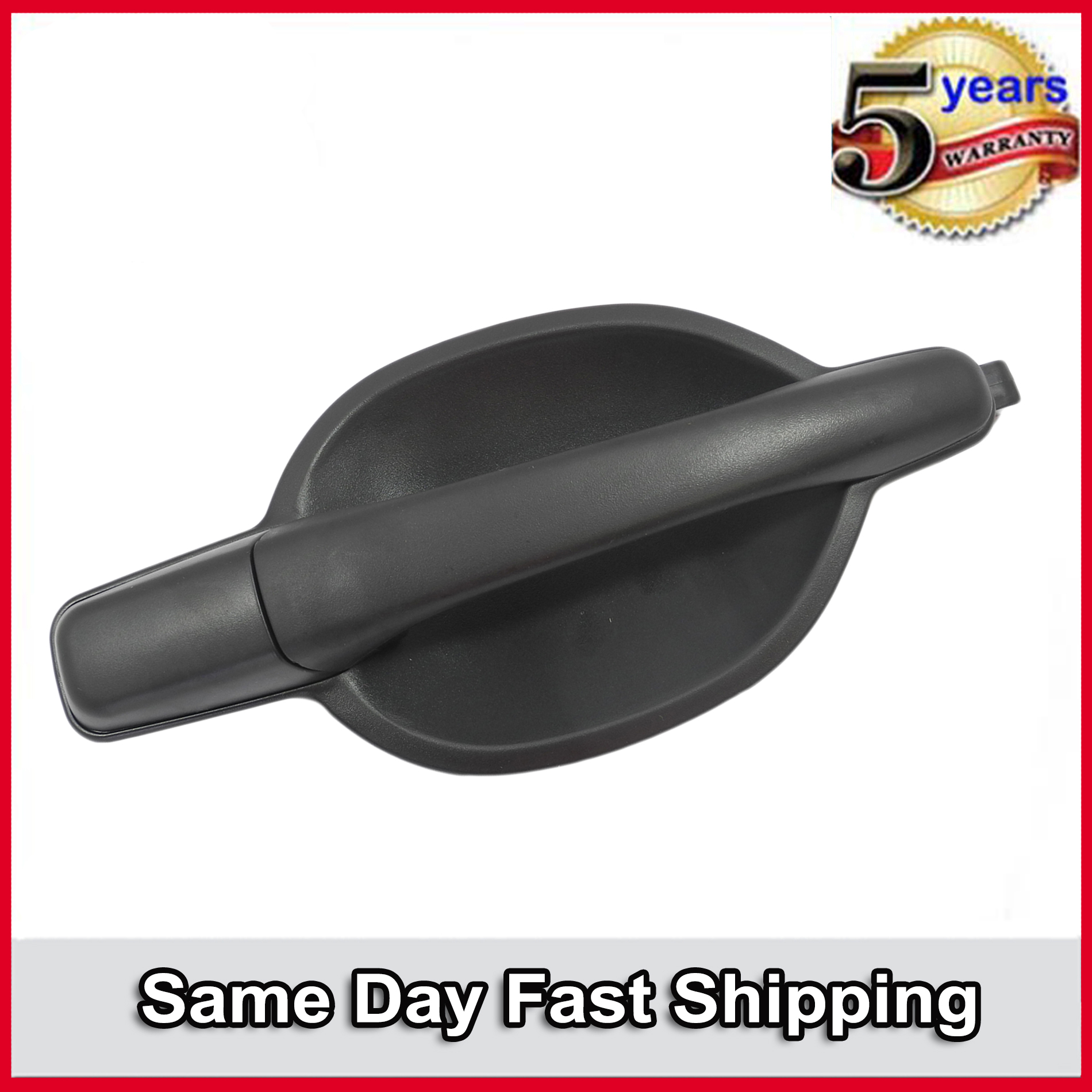 Outside Exterior Door Handle Rear Right Black  For 04-11 Mitsubishi Endeavor
