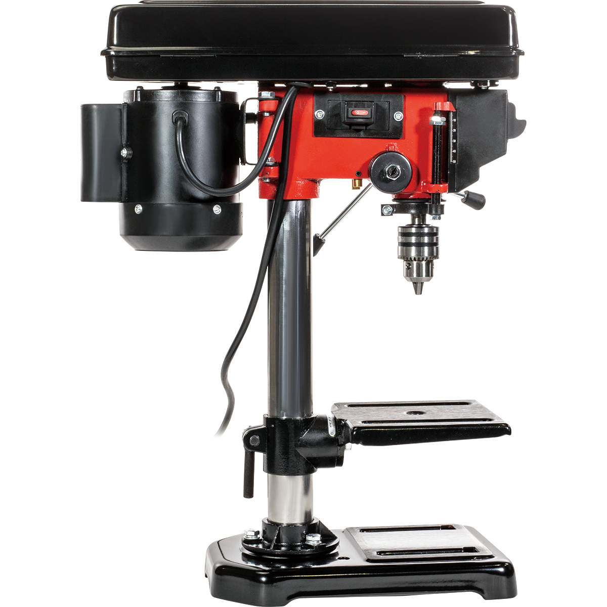 "8"" Electric Drill Press with Laser 5 Speed Guide ..."
