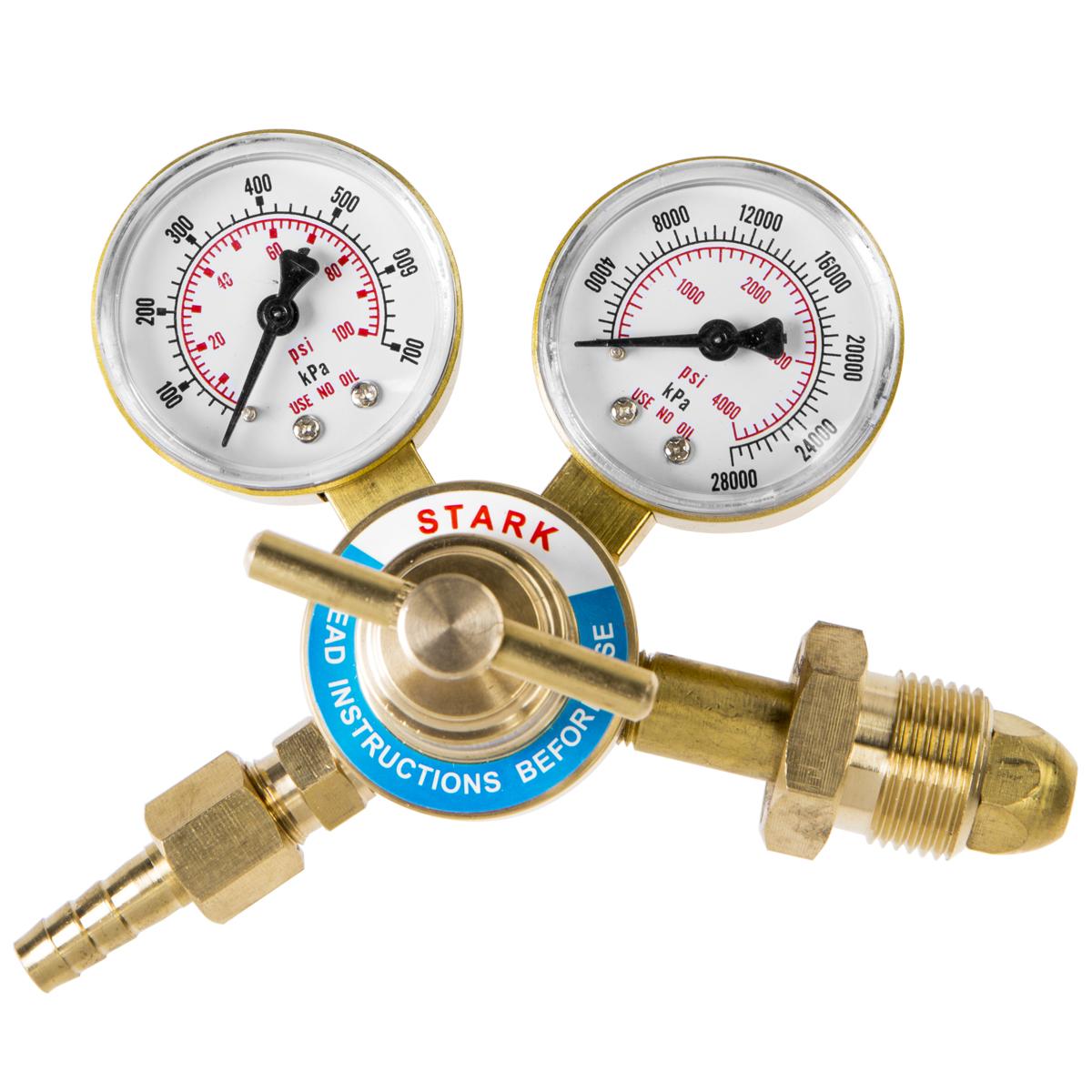 "Nitrogen argon helium Regulator 4000 PSI  CGA580 gas HVAC Purging 9//16/"" outlet"