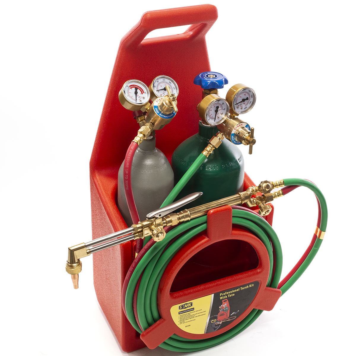 Details about Portable Professional Oxygen Acetylene Oxy Welding Cutting  Weld Torch Tank Kit