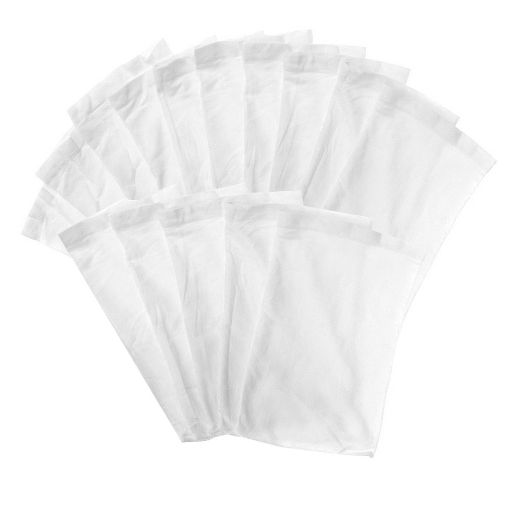 20 Pcs Swimming Pool Spa Skimmer Basket Filter Saver Bag Fine Mesh Screen Socks