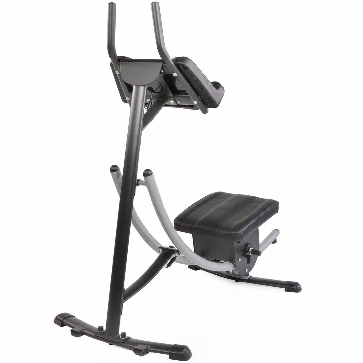 bc3a786b4f Abs Abdominal Exercise Machine Ab Crunch Coaster Fitness Body Muscle Workout  New