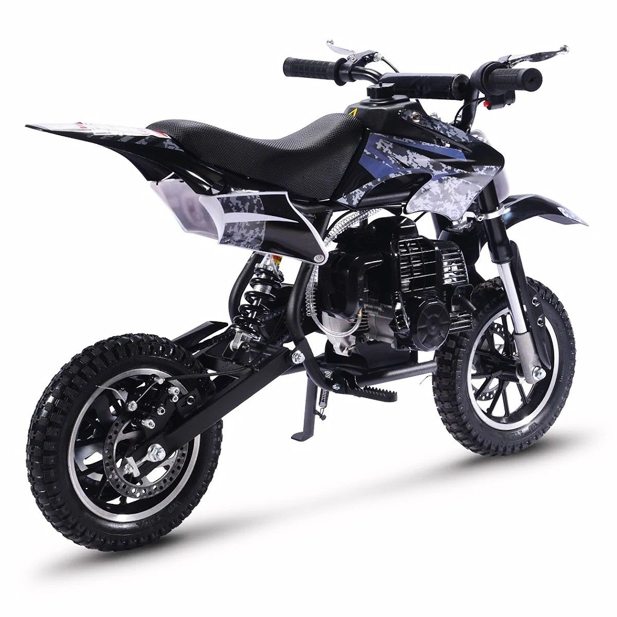 49cc-2-Stroke-Gas-Motorized-Mini-Dirt-devil-scooter-Bike-Pocket-Bike-Pit thumbnail 13