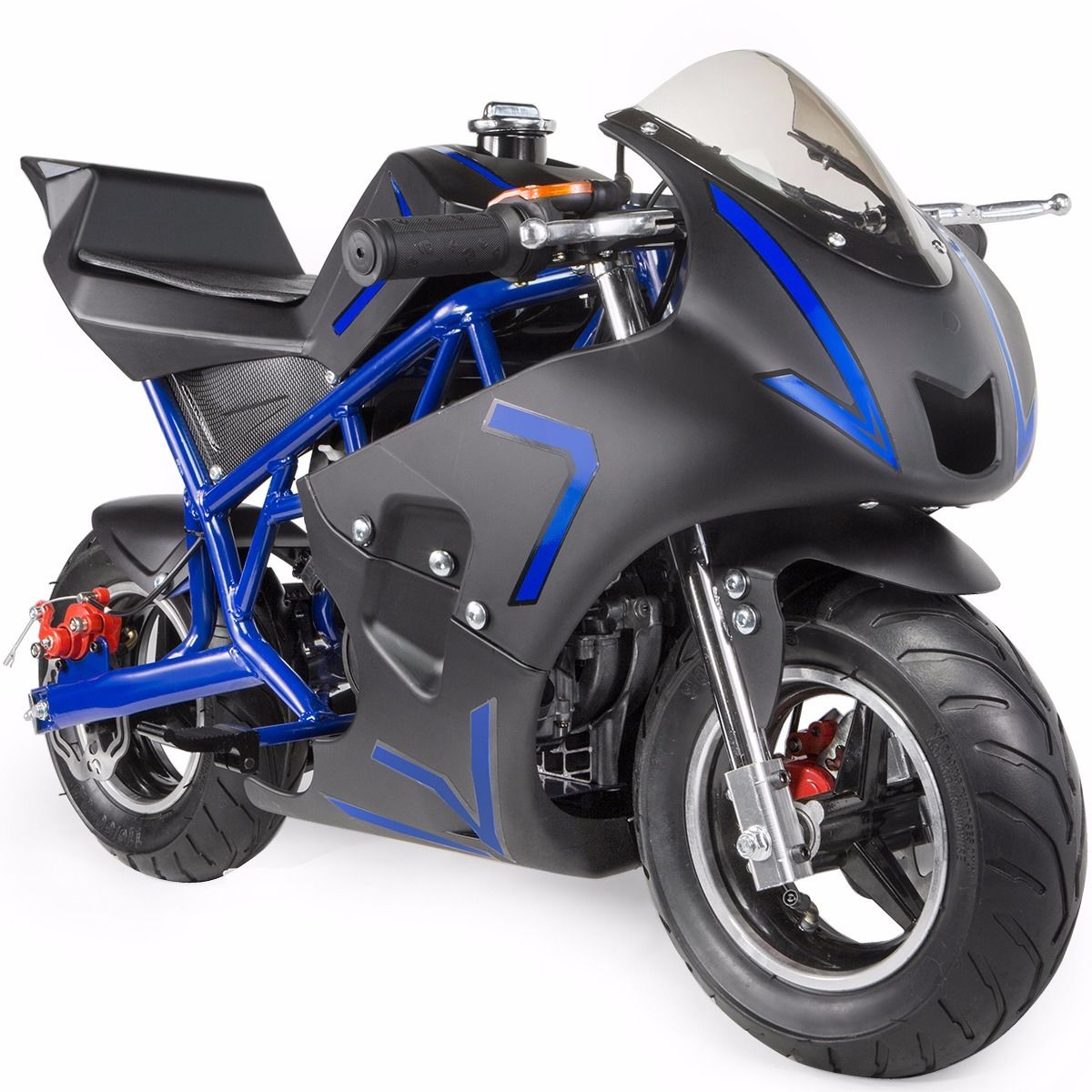 XtremepowerUS-Gas-Pocket-Bike-Motor-Bike-Scooter-40cc-Epa-Engine-Motorcycle thumbnail 9