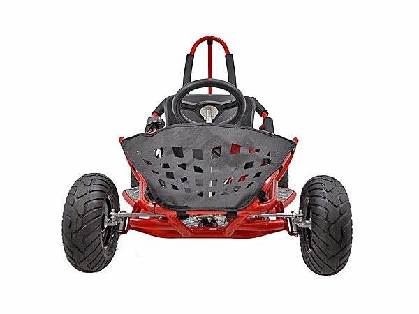 48v-1000w-3-speed-control-High-Performance-Electric-Off-Road-Go-Kart-Red-New thumbnail 14