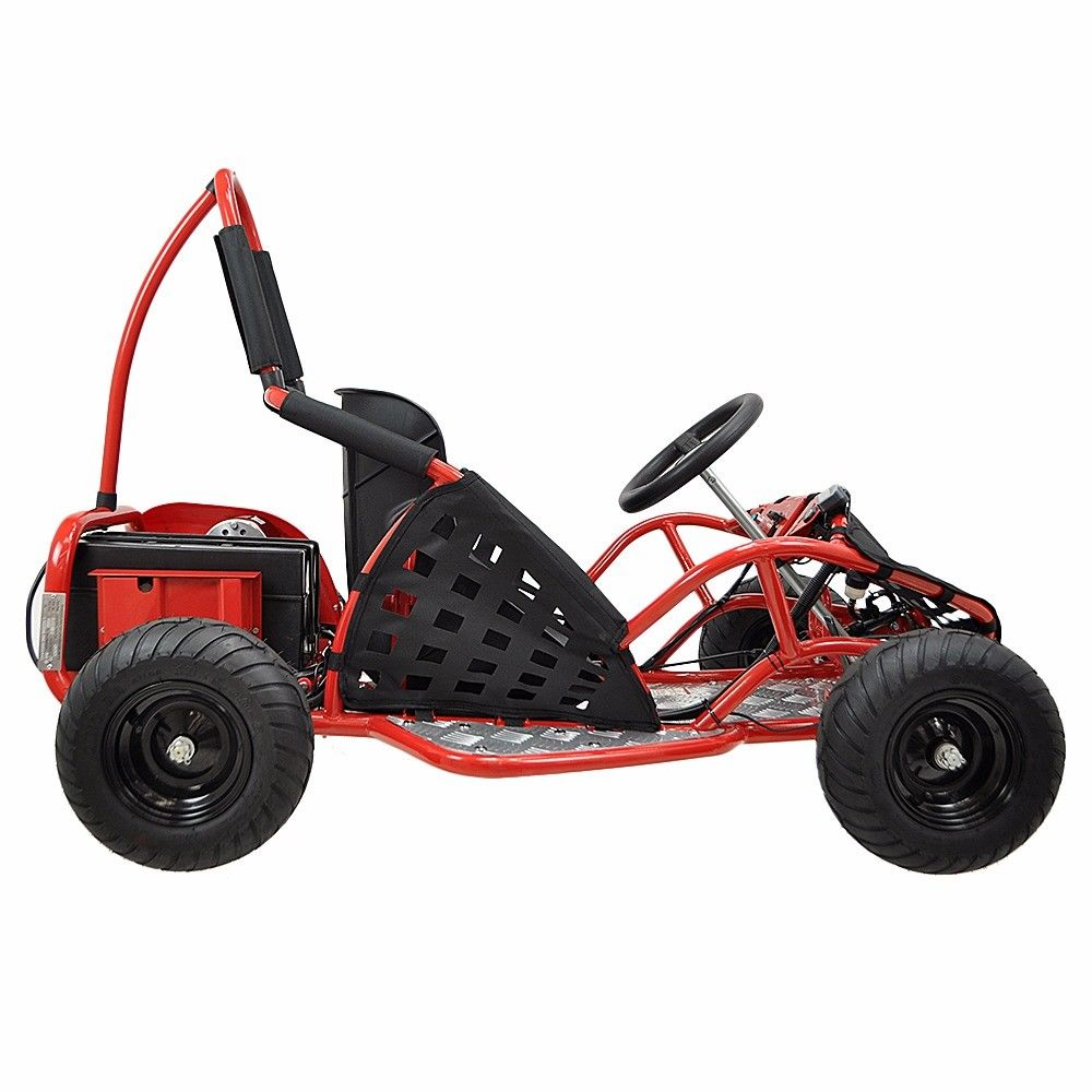 48v-1000w-3-speed-control-High-Performance-Electric-Off-Road-Go-Kart-Red-New thumbnail 13