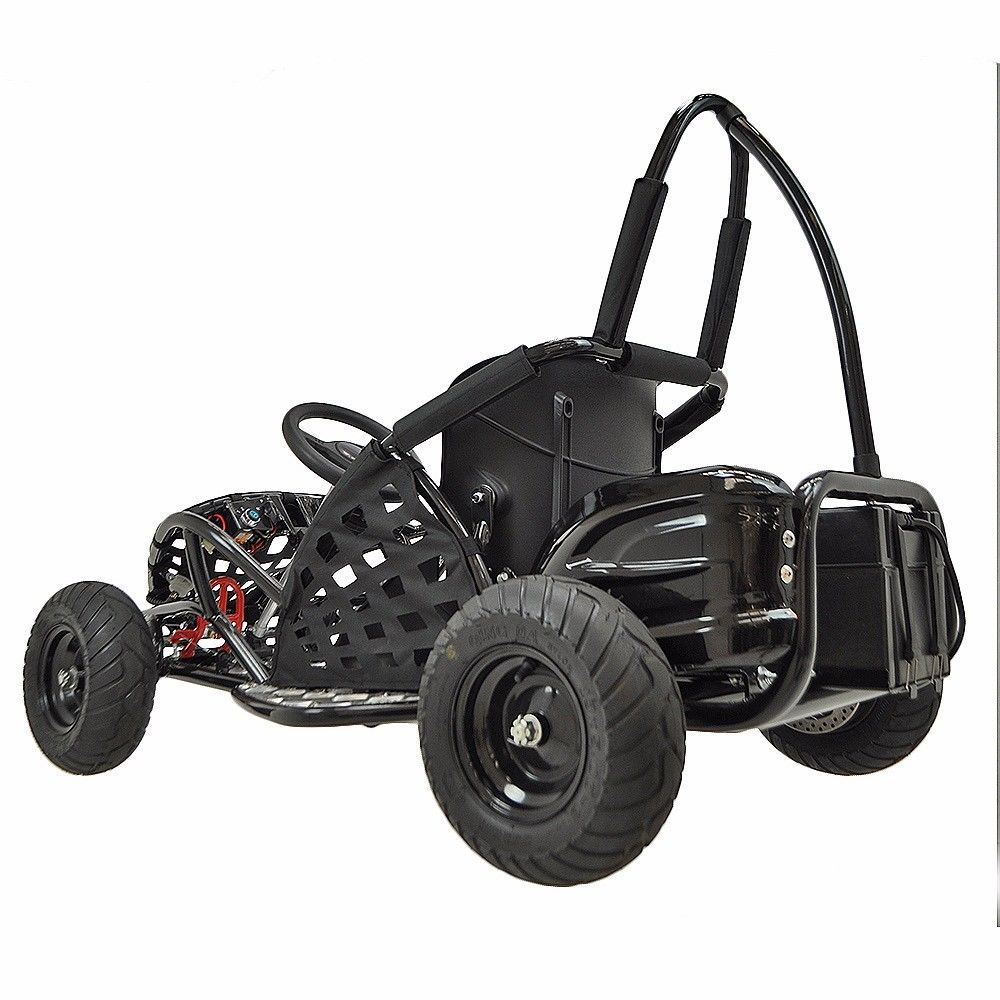 48v-1000w-3-speed-control-High-Performance-Electric-Off-Road-Go-Kart-Red-New thumbnail 10