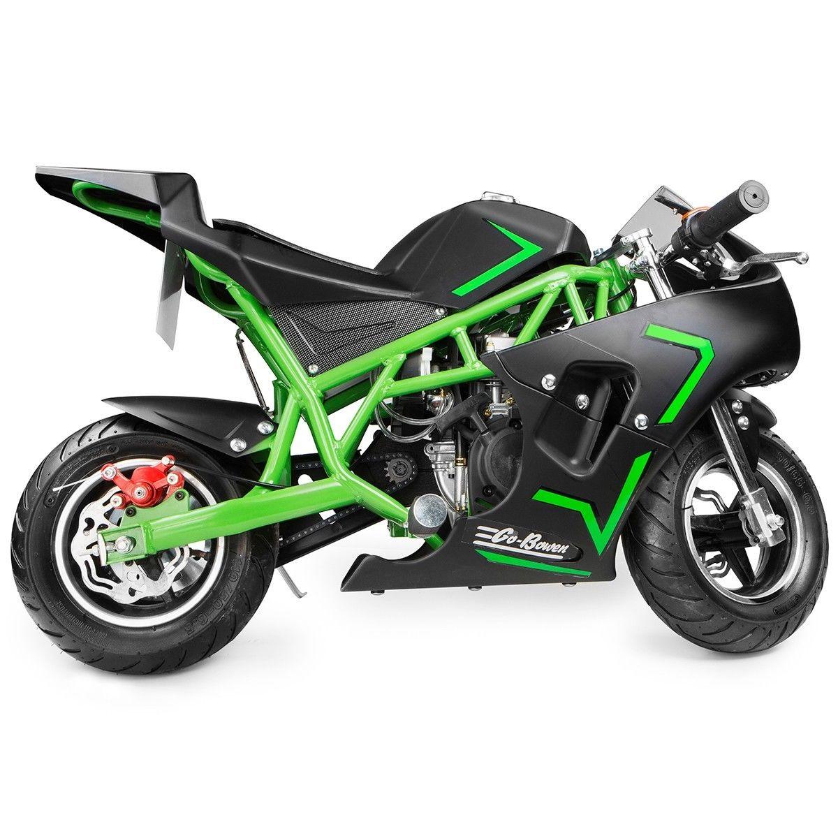 Xtremepowerus Gas Pocket Bike Motor Bike Scooter 40cc Epa Engine Motorcycle Ebay