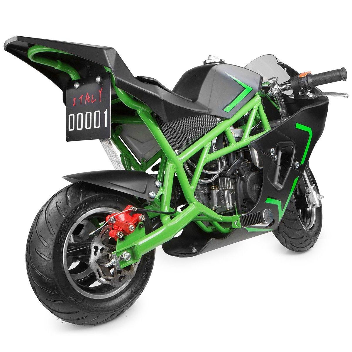 XtremepowerUS-Gas-Pocket-Bike-Motor-Bike-Scooter-40cc-Epa-Engine-Motorcycle thumbnail 14