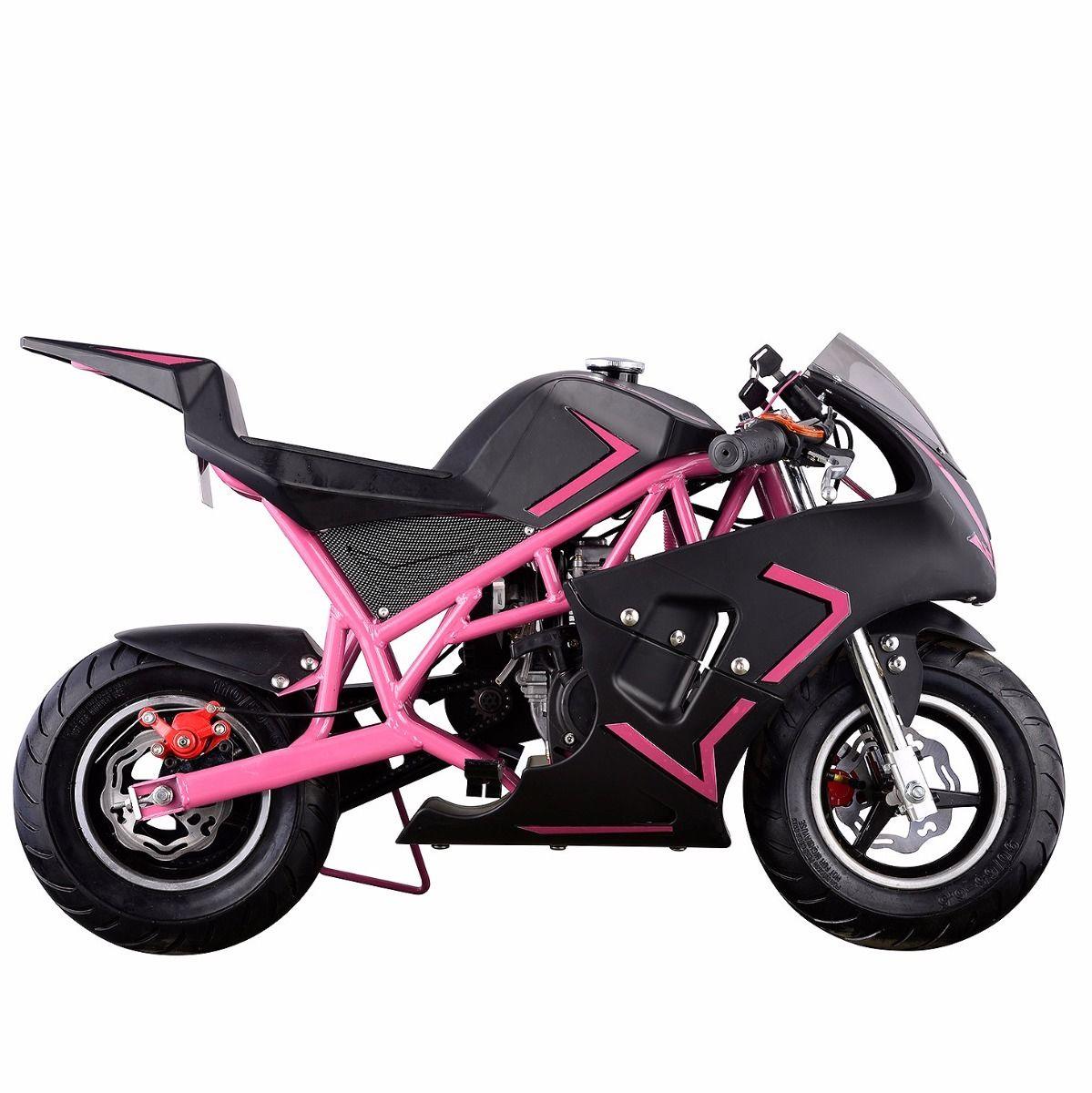 XtremepowerUS-Gas-Pocket-Bike-Motor-Bike-Scooter-40cc-Epa-Engine-Motorcycle thumbnail 20