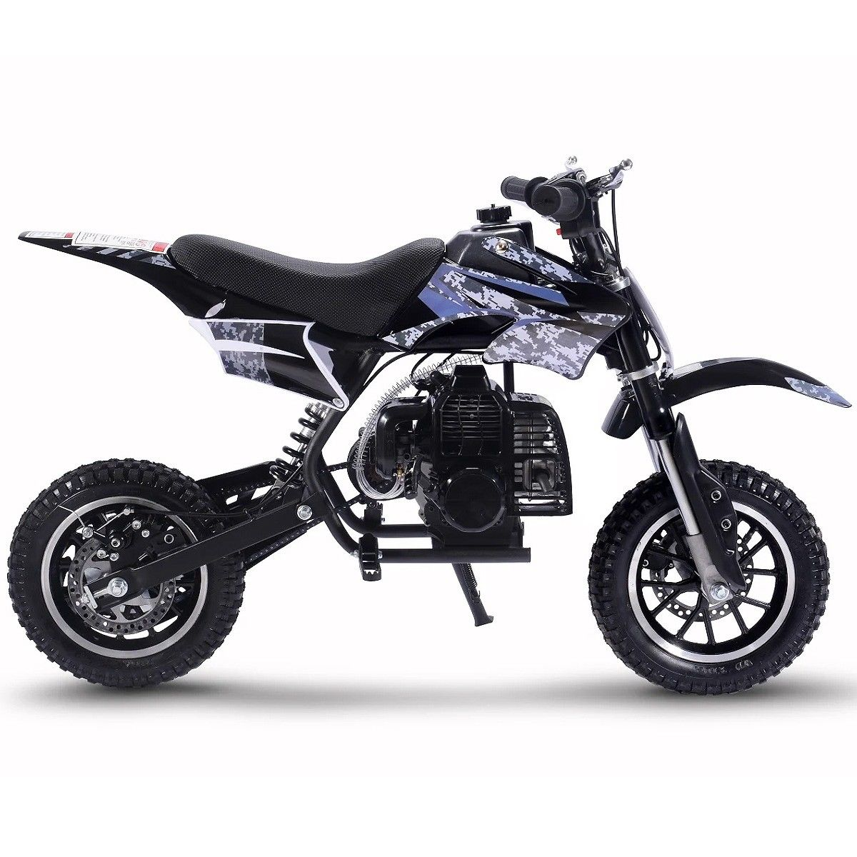 49cc-2-Stroke-Gas-Motorized-Mini-Dirt-devil-scooter-Bike-Pocket-Bike-Pit thumbnail 14