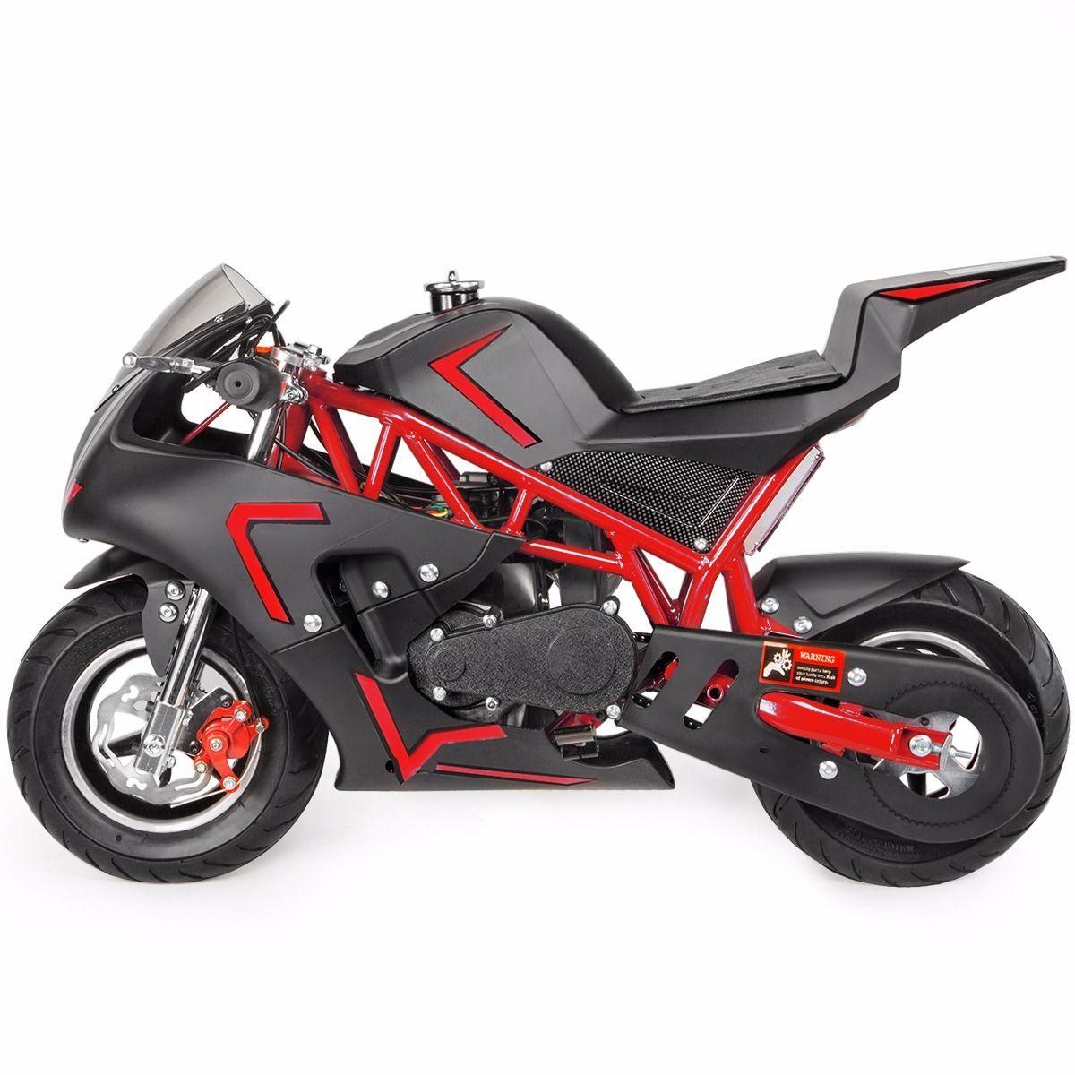 XtremepowerUS-Gas-Pocket-Bike-Motor-Bike-Scooter-40cc-Epa-Engine-Motorcycle thumbnail 27