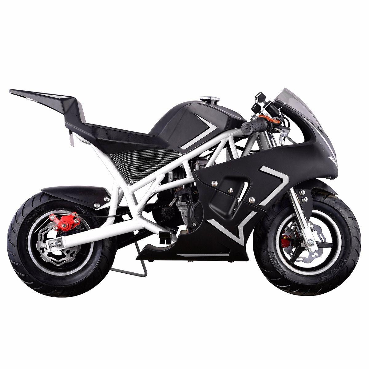 XtremepowerUS-Gas-Pocket-Bike-Motor-Bike-Scooter-40cc-Epa-Engine-Motorcycle thumbnail 31