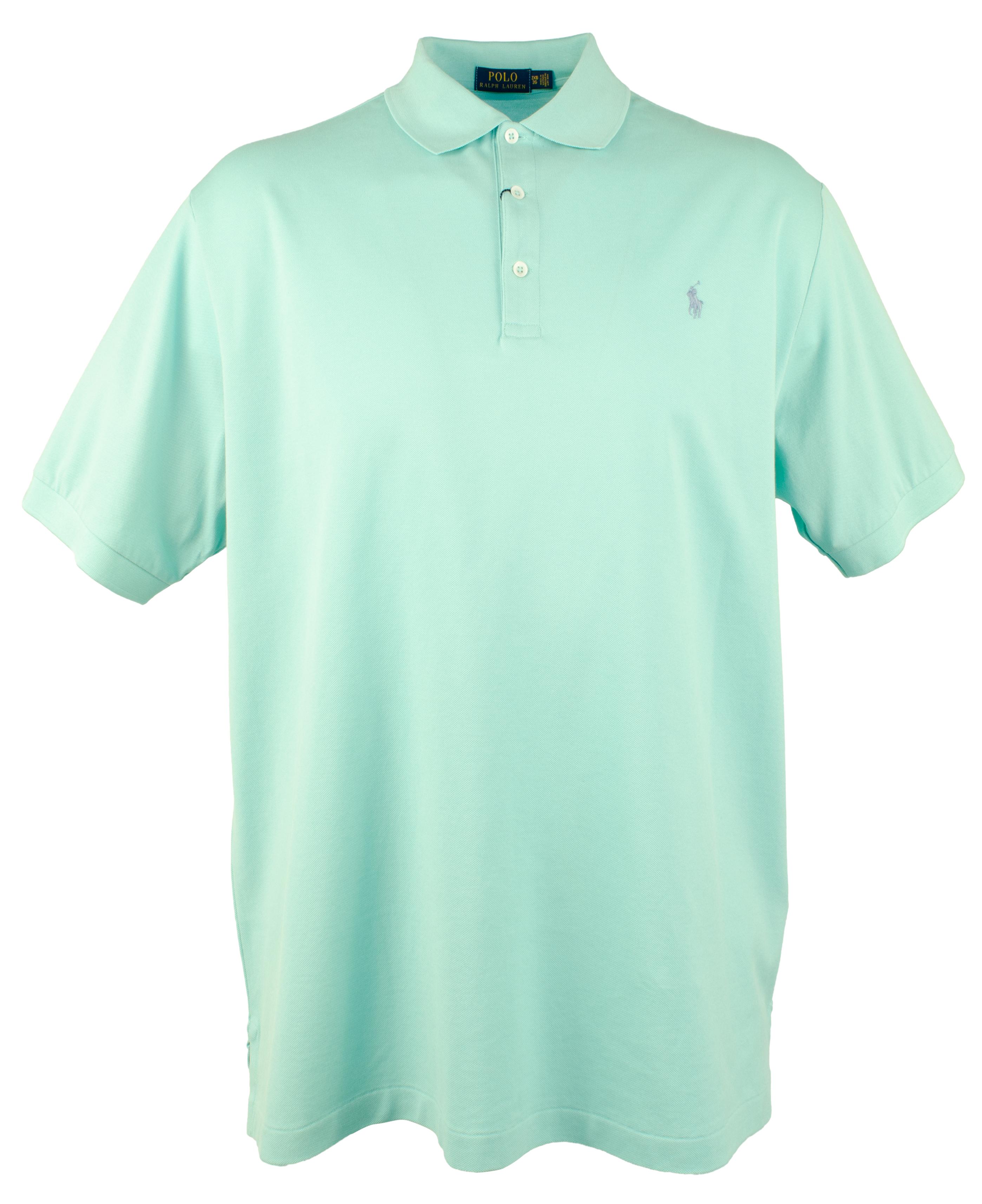 eca099280cea7a Polo Ralph Lauren Men's Big & Tall 3-Button Mesh Polo Shirt | eBay