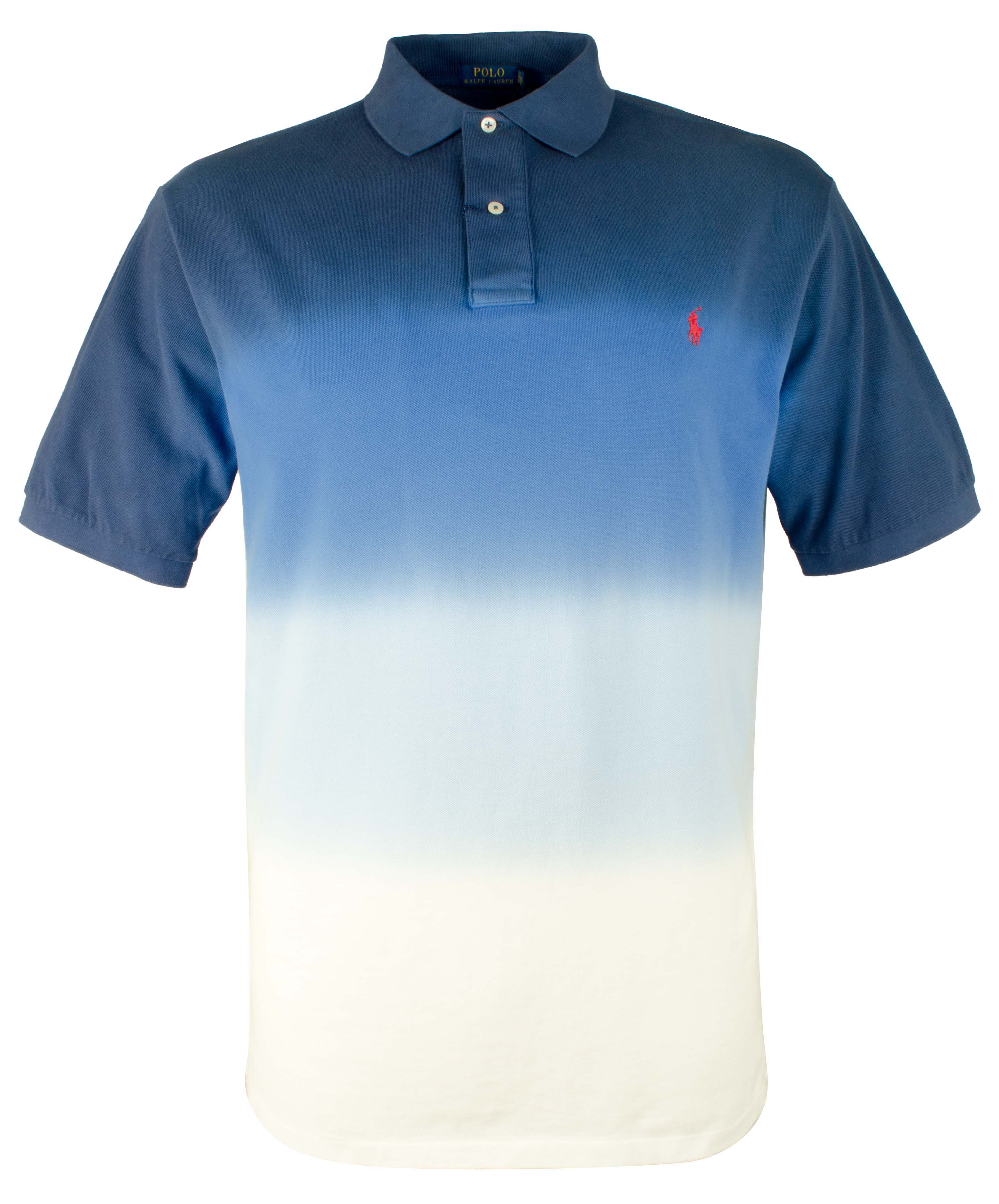 1a7c9296bc3 Polo Ralph Lauren Men s Big   Tall Dip Dyed Classic Fit Mesh Polo Shirt