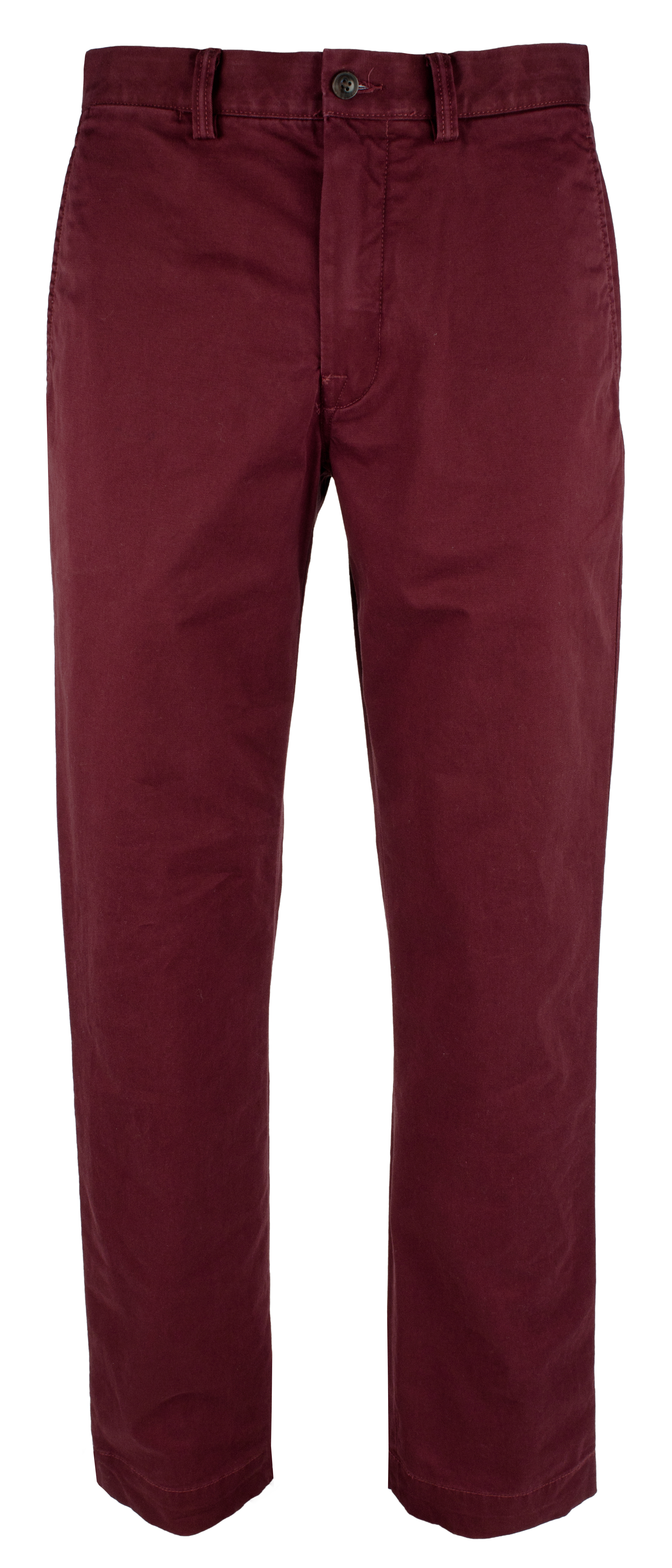 Polo Ralph Lauren Mens Big and Tall Stretch Classic Fit Chino Pants-R-44BX30L Wine
