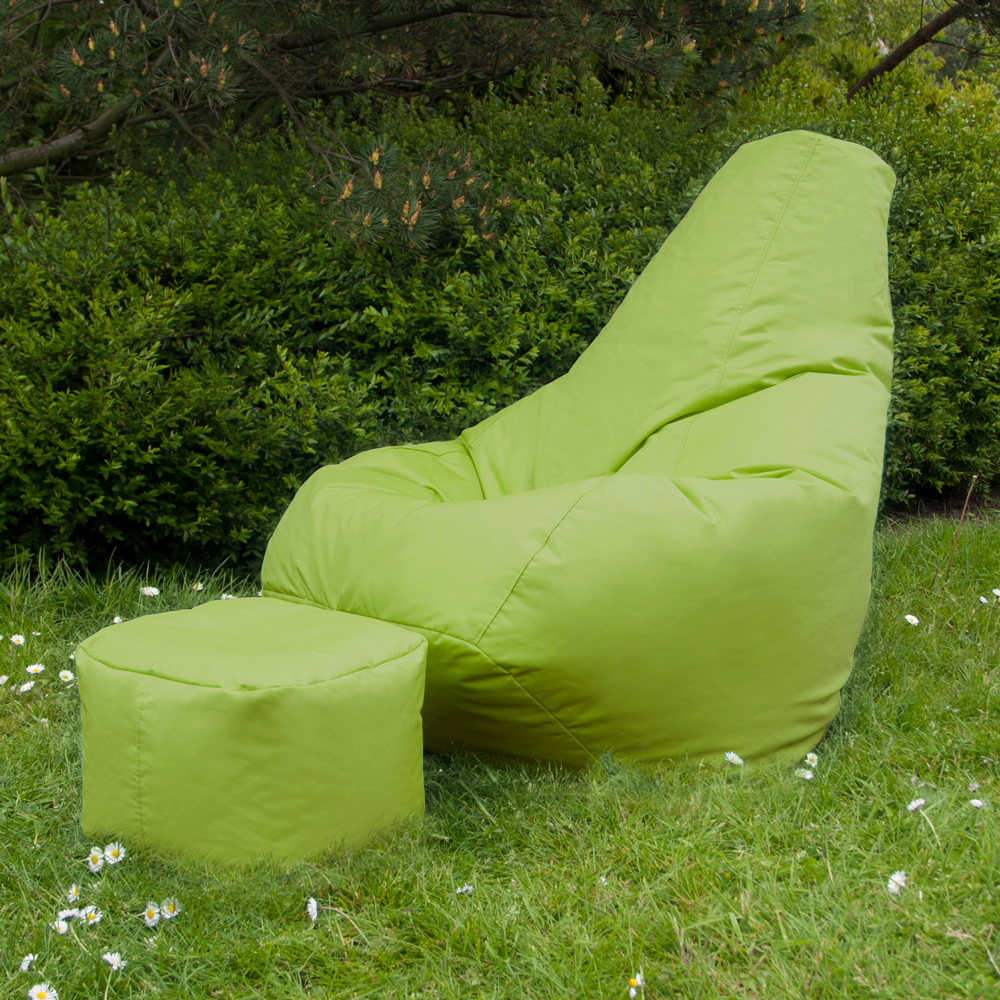 Bean-Bag-Chair-High-Back-with-Footstool-Indoor-Outdoor-Beanbag