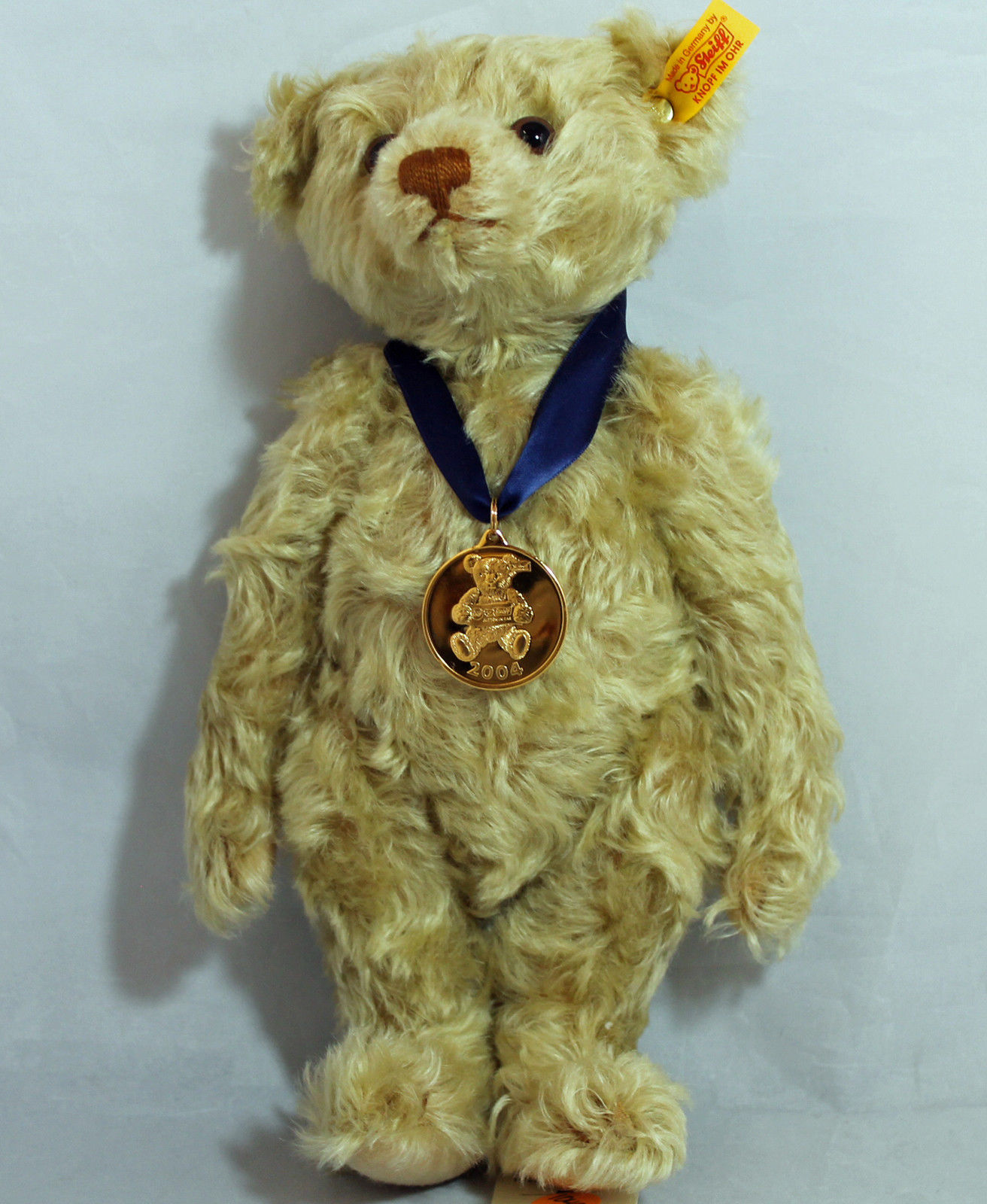 Steiff 2004 Danbury Mint Exclusive Classic Jointed Teddy Bear, Light marróne-6673