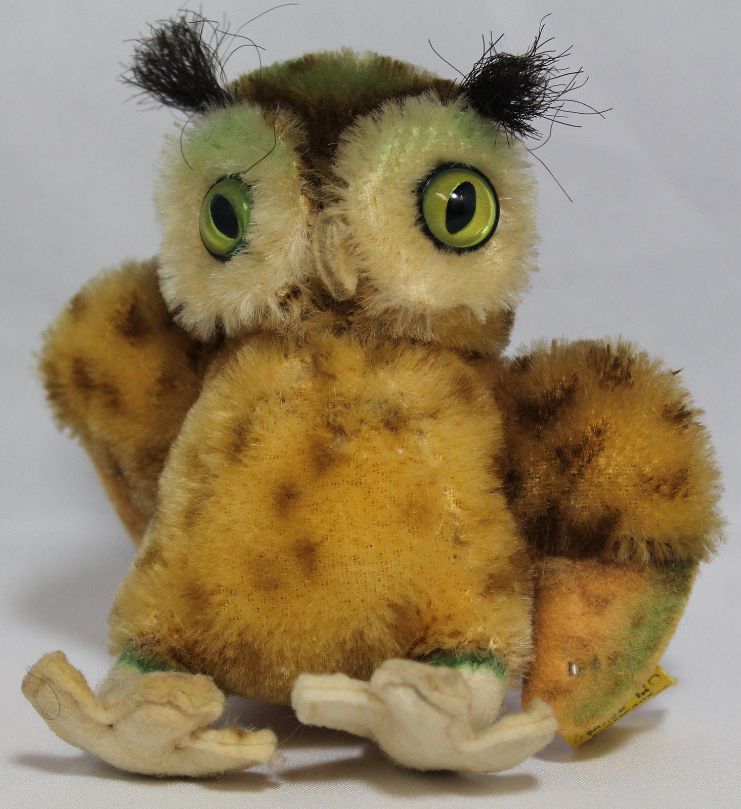 Steiff Vintage 1950 s Cosy Wittie Owl  - 4310