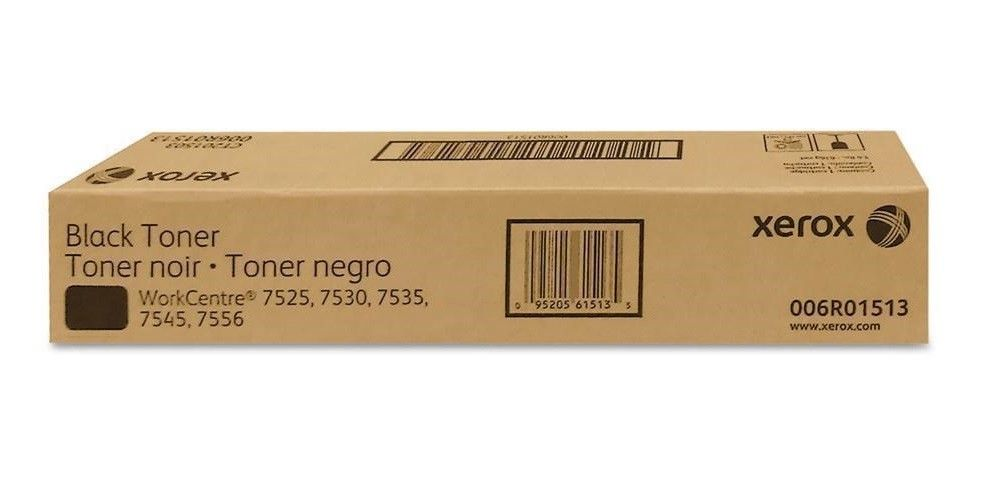 Xerox 006R01513 Black Toner Cartridge WorkCentre 7525 Genuine New Sealed Box