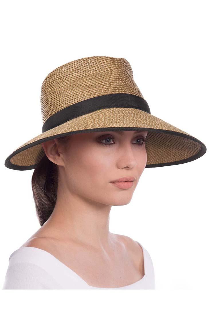 1e5a8989c Details about Eric Javits Sun Crest Hat 13820