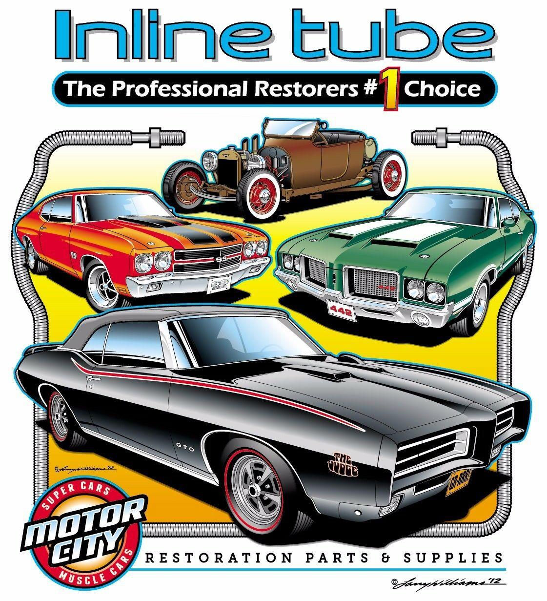 1967 Oldsmobile Olds Cutlass 442 W-30 W-31 F85 NOS Brake Line Clip Set