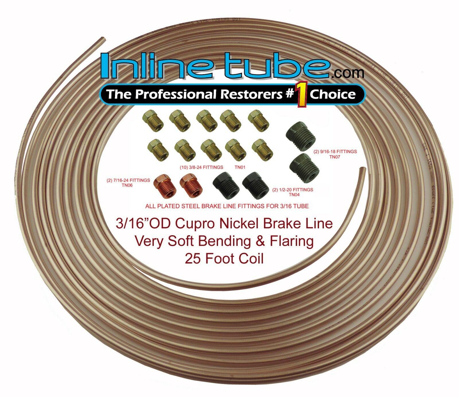 Brake//Fuel Pipe Clarik 5//16 X 2.5 Mtrs Cupro Nickel Kunifer